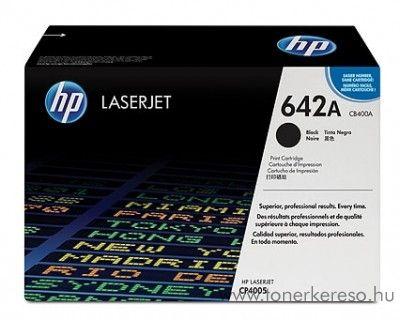 HP CB400A (No 642A) fekete toner HP Color LaserJet CP4005 lézernyomtatóhoz
