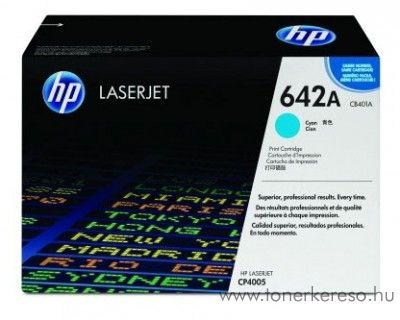 HP CB401A (No 642A) cyan toner HP Color LaserJet CP4005 lézernyomtatóhoz