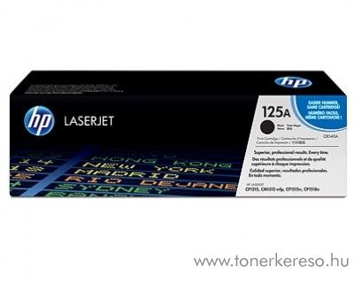 HP CB540A (No 125A) black toner HP Color LaserJet CP1510 Printer series lézernyomtatóhoz