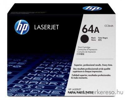 HP CC364A toner HP LaserJet P4014DN lézernyomtatóhoz