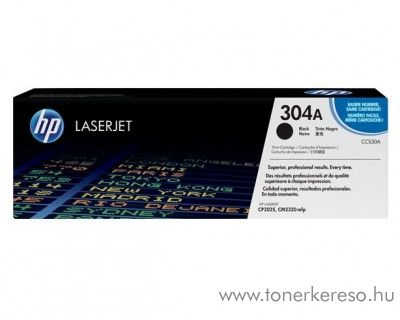 HP CC530A (No 304A) black toner