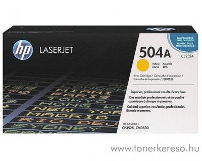 HP CE252A (No 504A) yellow toner