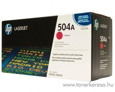 HP CE253A (No 504A) magenta toner HP Color LaserJet CM3530 lézernyomtatóhoz