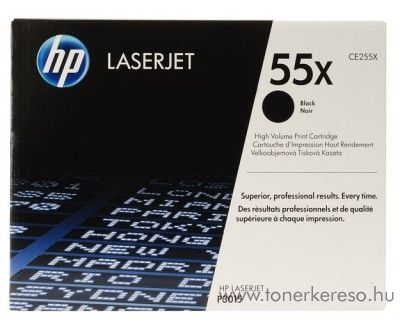 HP CE255X toner HP LaserJet P3015D lézernyomtatóhoz