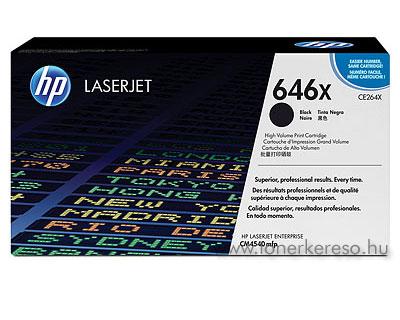 HP CE264X nagykapacitású fekete eredeti HP lézertoner CM4540