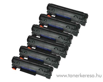 HP CE285A utángyártott 6db-os csomag - árbajnok HP Laserjet M1212nf lézernyomtatóhoz