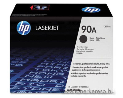 HP CE390A toner (90A) HP LaserJet 600 M603xh lézernyomtatóhoz