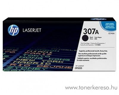 HP CE740A (No 307A) black toner HP Color LaserJet Professional CP5225DN lézernyomtatóhoz