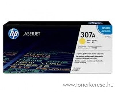 HP CE742A (No 307A) yellow toner