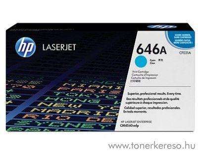 HP CF031A (No. 646A) eredeti cyan toner CM4540 HP Color LaserJet CM4540 lézernyomtatóhoz