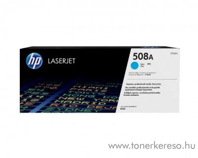 HP LaserJet Enterprise M552 (508A) eredeti cyan toner CF361A HP Color LaserJet Enterprise M553n lézernyomtatóhoz