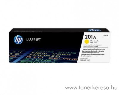 HP LaserJet Pro M252 (201A) eredeti yellow toner CF402A HP Color LaserJet M277dn lézernyomtatóhoz