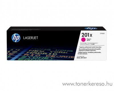 HP LaserJet Pro M252 (201X) eredeti magenta toner CF403X HP Color LaserJet M277dn lézernyomtatóhoz