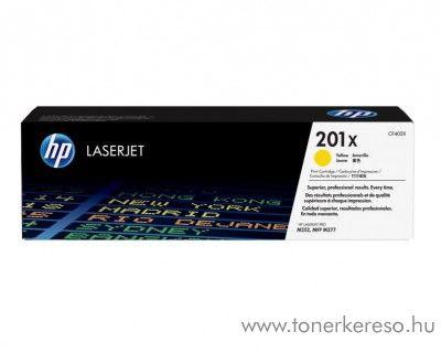 HP LaserJet Pro M252 (201X) eredeti yellow toner CF402X HP Color LaserJet M277dn lézernyomtatóhoz