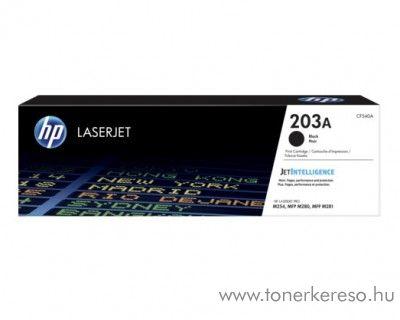 HP Color LaserJet Pro M254dw eredeti black toner CF540A HP Color LaserJet Pro MFP M281fdn lézernyomtatóhoz