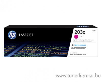 HP Color LaserJet Pro M254dw eredeti magenta toner CF543X HP Color LaserJet Pro MFP M281fdn lézernyomtatóhoz