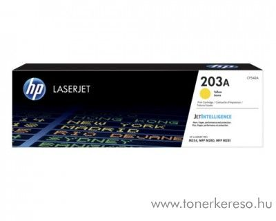 HP Color LaserJet Pro M254dw eredeti yellow toner CF542A