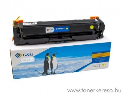 HP Color LaserJet Pro M254dw utángyártott yellow toner GGHCF542X HP Color LaserJet Pro MFP M281fdn lézernyomtatóhoz