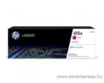 HP Color LJ Pro M454dn (415A) eredeti magenta toner W2033A HP Color LaserJet Pro MFP M479dw lézernyomtatóhoz