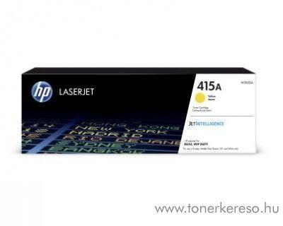 HP Color LJ Pro M454dn (415A) eredeti yellow toner W2032A HP Color LaserJet Pro MFP M479dw lézernyomtatóhoz