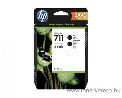 HP Designjet T120/T520 eredeti 2db fekete tintapatron P2V31A HP Designjet T120 tintasugaras nyomtatóhoz