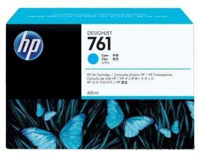 HP Designjet T7100 (761) 3db eredeti cyan tintapatron CR272A HP Designjet T7100 tintasugaras nyomtatóhoz