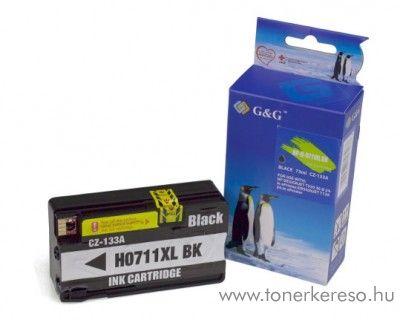 HP Designjet T520 utángyártott black tintapatron GGH711XLB HP Designjet T520 tintasugaras nyomtatóhoz