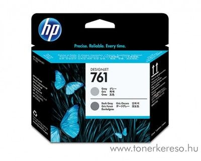HP Designjet T7100 (761) eredeti gray/d. gray nyomtatófej CH647A HP Designjet T7100 tintasugaras nyomtatóhoz