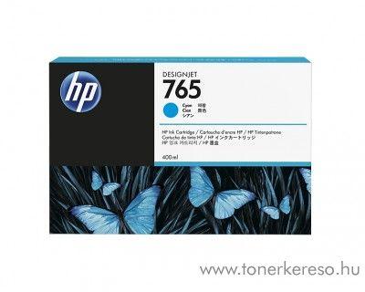 HP DesignJet T7200 (765) eredeti cyan tintapatron F9J52A HP Designjet T7200 tintasugaras nyomtatóhoz