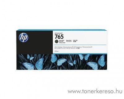 HP DesignJet T7200 (765) eredeti matt black tintapatron F9J55A HP Designjet T7200 tintasugaras nyomtatóhoz