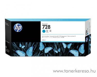 HP DesignJet T730/T830 (728) eredeti cyan tintapatron F9K17A HP DesignJet T830 MFP  tintasugaras nyomtatóhoz