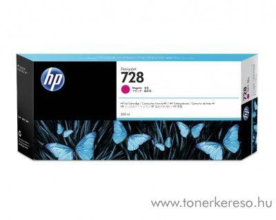 HP DesignJet T730/T830 (728) eredeti magenta tintapatron F9K16A HP DesignJet T830 MFP  tintasugaras nyomtatóhoz