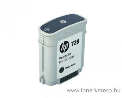 HP DesignJet T730/T830 (728) eredeti matte black patron F9J64A HP DesignJet T830 MFP  tintasugaras nyomtatóhoz