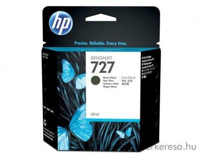 HP Designjet T920 (727) eredeti matt fekete tintapatron C1Q11A HP DesignJet T920 tintasugaras nyomtatóhoz
