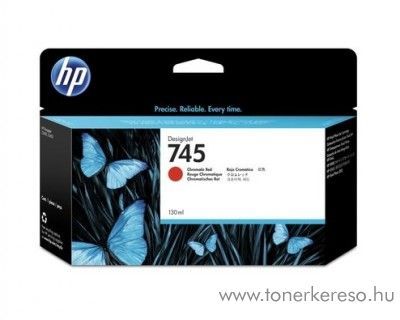 HP Designjet Z2600 (745) eredeti chromatic red patron F9K00A