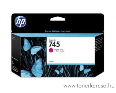 HP Designjet Z2600 (745) eredeti magenta tintapatron F9J95A HP DesignJet Z5600 tintasugaras nyomtatóhoz