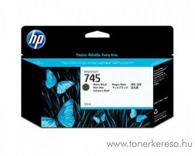 HP Designjet Z2600 (745) eredeti matte black tintapatron F9J99A HP DesignJet Z2600  tintasugaras nyomtatóhoz