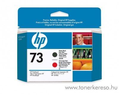 HP Designjet Z3200 (73) eredeti matte bk/red tintapatron CD949A