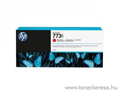 HP DesignJet Z 6600 (773C) eredeti ch. red tintapatron C1Q38A