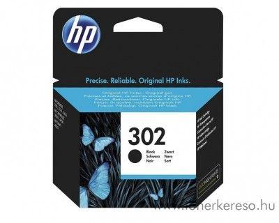 HP Deskjet 2130 (302) eredeti fekete tintapatron F6U66AE  HP OfficeJet 3831  tintasugaras nyomtatóhoz