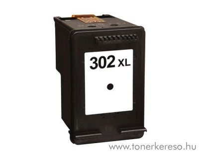 HP Deskjet 2130 (302XL) utángyártott fekete tintapatron OBH302XL HP OfficeJet 3836  tintasugaras nyomtatóhoz