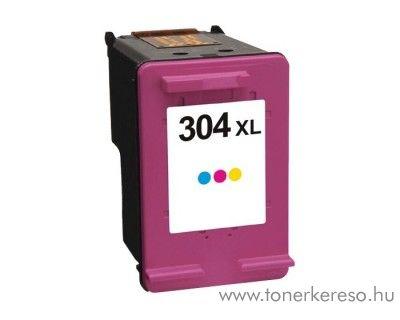 HP DeskJet 3720 (304XL) utángyártott színes patron GGHN9K07AE HP DeskJet 2652 All-in-One Printer tintasugaras nyomtatóhoz
