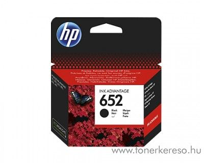HP DeskJet Ink Advantage 1115 (652) eredeti black patron F6V25AE HP DeskJet Ink Advantage 3775 All-in-One nyomtatĂł