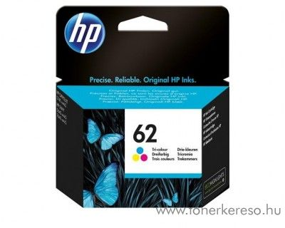 HP ENVY 5540/5640 (62) eredeti 3 színű CMY tintapatron C2P06AE HP Envy 5540 e-All-in-One tintasugaras nyomtatóhoz