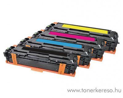 HP LaserJet CM1312 utángyártott toner csomag CB540/1/2/3 HP Color LaserJet CP1518 lézernyomtatóhoz