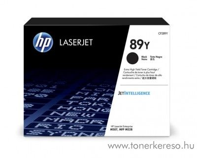 HP LaserJet Enterprise M507dn (89Y) eredeti fekete toner CF289Y HP LaserJet Enterprise Flow MFP M528z lézernyomtatóhoz
