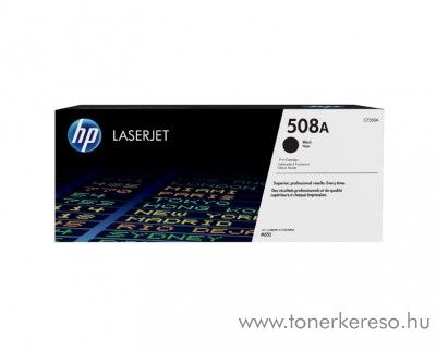 HP LaserJet Enterprise M552 (508A) eredeti black toner CF360A HP Color LaserJet Enterprise M553n lézernyomtatóhoz