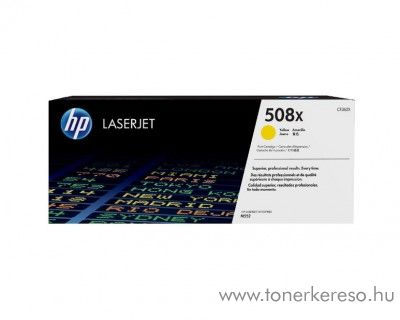 HP LaserJet Enterprise M552 (508X) eredeti yellow toner CF362X