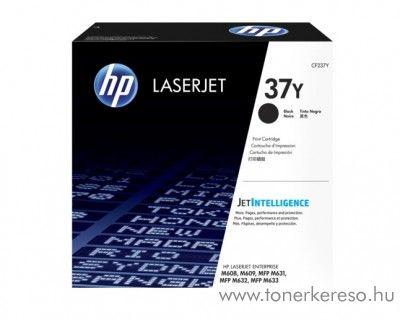 HP LaserJet Enterprise M608x/M609x eredeti black toner CF237Y HP LaserJet Enterprise MFP M633fh lézernyomtatóhoz