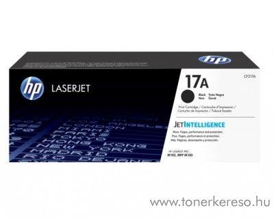 HP LaserJet Pro M102w/M130fw eredeti black toner CF217A HP LaserJet Pro M102W lézernyomtatóhoz